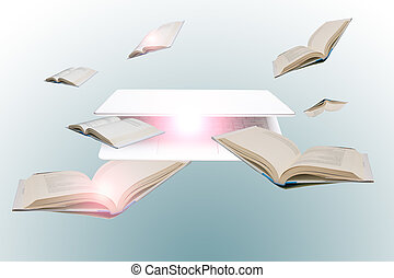 acceso, a, en línea, información, para, educación, estudio, y, aprendizaje