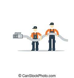 acceso, conexión, red, internet