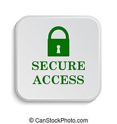 acceso seguro, icono