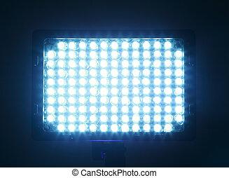 accesorios, a la cámara fotográfica, constante, luz, para,...