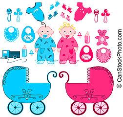 accesorios, bebes