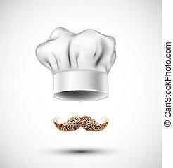 accesorios, cocinero