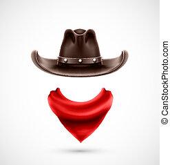 accesorios, vaquero