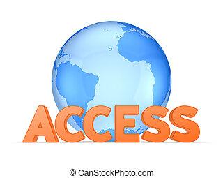 Access concept.