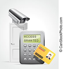 Access control system - security