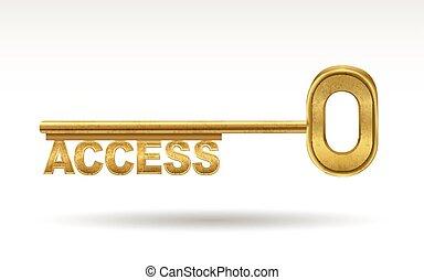 access - golden key