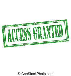 Access Granted-stamp