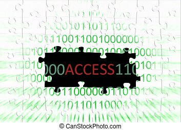 Access puzzle concept