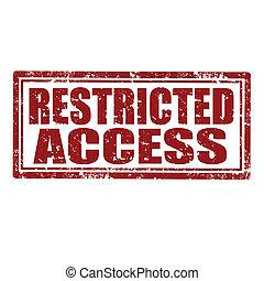 access-stamp, restreint