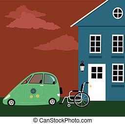 accessibilità, ridotto, mobilità