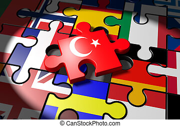 Accession negotiations between the EU and Turkey symbolized...