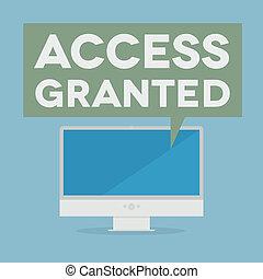 accesso, granted