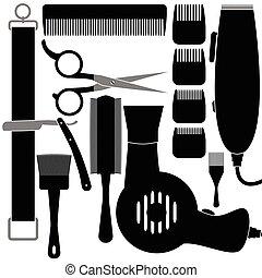 accessoires, cheveux