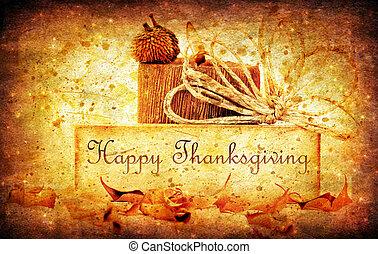 acción de gracias, feriado, plano de fondo