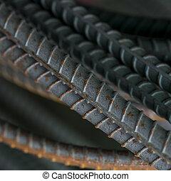 acciaio, barre