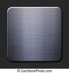 acciaio, fibra, fondo, carbonio