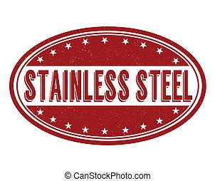 acciaio inossidabile, francobollo