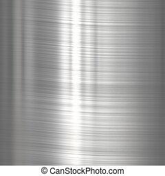 acciaio, inossidabile, metallo, fondo