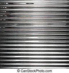 acciaio, inossidabile, metallo, struttura, fondo