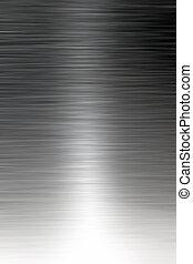 acciaio, inossidabile, spazzolato, struttura