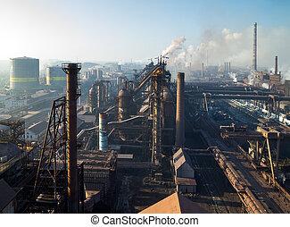 acciaio, lavori in corso, ferro