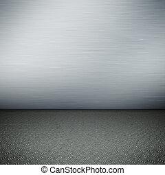 acciaio, pavimento