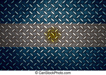 acciaio, piastra, argentina, diamante, seamless