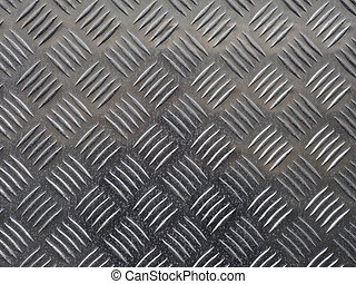 acciaio, piastra, diamante, grigio, fondo