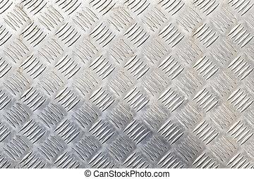 acciaio, piastra, diamante, seamless, struttura