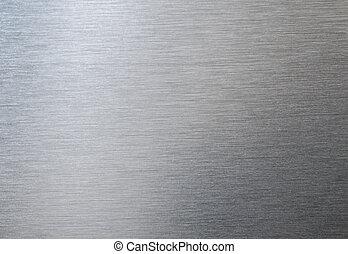 acciaio, piastra, metallo, struttura, fondo.