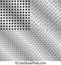 acciaio, seamless, fondo