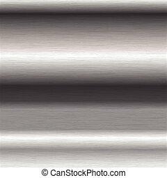 acciaio, spazzolato, superficie