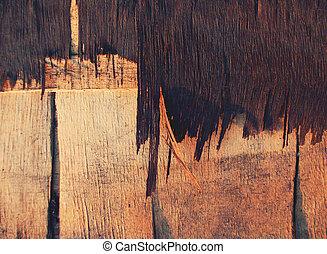 accidenté, texture bois