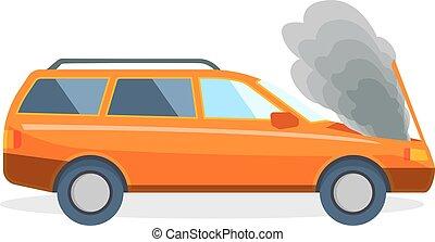 endommag accident fracas automobiles voiture apr s clip art vectoriel rechercher des. Black Bedroom Furniture Sets. Home Design Ideas