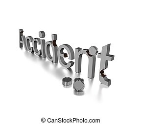 Accident - Text describing accident