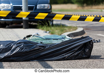 accident voiture, victime