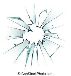 kaputte fensterscheibe risse scheibe kratzer vektor illustration suche clipart. Black Bedroom Furniture Sets. Home Design Ideas