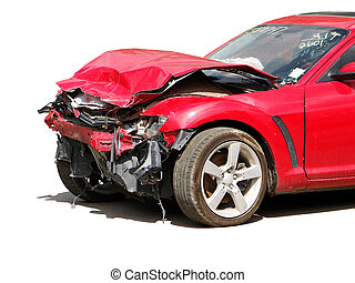 accidente, automóvil