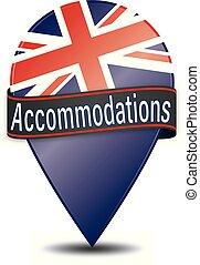 Accommodations glossy web pointer
