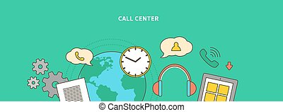 Accompanying of the Product on Market. Call Center - Concept...