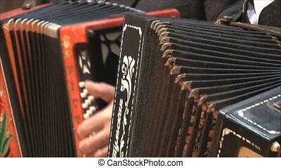 accordéons, 2, deux