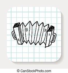 Accordion doodle