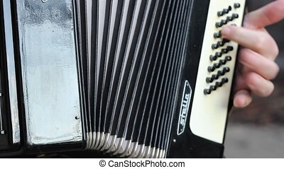 Accordion Instrument Body