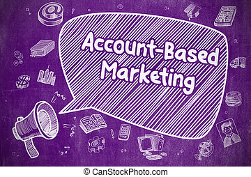 Account-Based Marketing - Business Concept. - Account-Based...