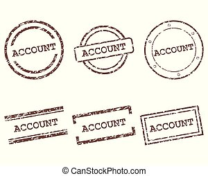 Account stamps