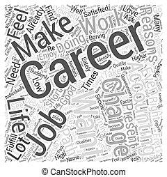 Accountancy Career Change Word Cloud Concept