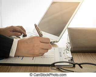 accountant - Accountants are preparing information to...