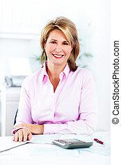 Accountant Business woman. - Accountant business woman at ...