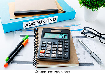 Accounting 2017 with calculator