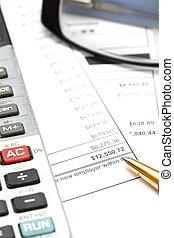 Accounting and charts
